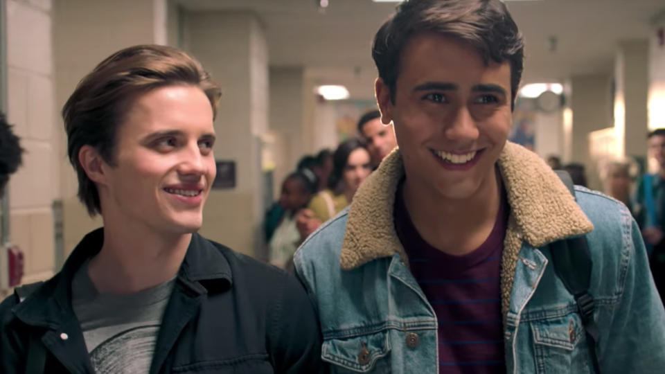 'Love Victor' is a spin-off of the movie 'Love Simon' (Disney/Hulu)