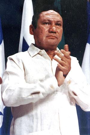 FILE PHOTO: Former Panamanian dictator Manuel Antonio Noriega takes part in a news conference at the Atlapa center in this file photo in Panama City October 11, 1998. REUTERS/Alberto Lowe/File Photo