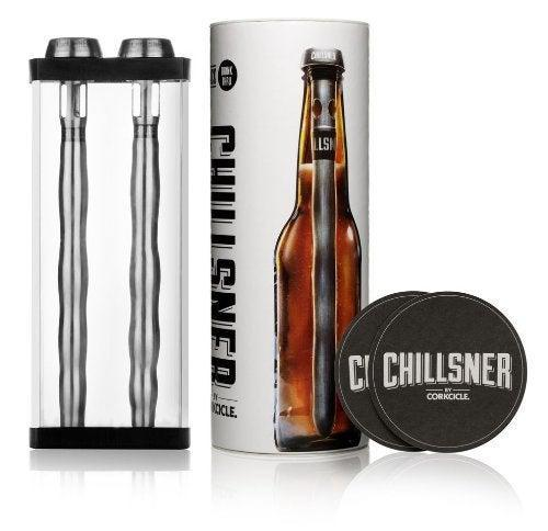 """<h2>Corkcicle Chillsner Beer-Cooling Rod</h2><br><strong>Under $20</strong><br>""""When my brother moved to Texas he was not happy that his beers would get warm before he finished them due to the heat,"""" explained an Amazon reviewer who purchased this beer-chilling obelisk for a family member. """"[He says] they really do work so he bought more for when his buddies come over, [so] they can all enjoy cold beers in Texas heat!!""""<br><br><em>Shop Corkcicle</em> <em>on <strong><a href=""""https://amzn.to/3pw9h47"""" rel=""""nofollow noopener"""" target=""""_blank"""" data-ylk=""""slk:Amazon"""" class=""""link rapid-noclick-resp"""">Amazon</a></strong></em><br><br><strong>Corkcicle</strong> Chillsner Beer Chiller (Set of Two), $, available at <a href=""""https://amzn.to/3ggkq4X"""" rel=""""nofollow noopener"""" target=""""_blank"""" data-ylk=""""slk:Amazon"""" class=""""link rapid-noclick-resp"""">Amazon</a>"""