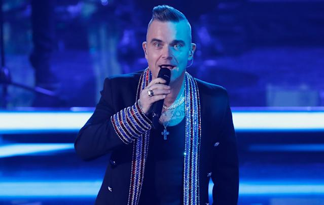 Robbie Williams (Photo by Felipe Trueba - Pool/Getty Images)