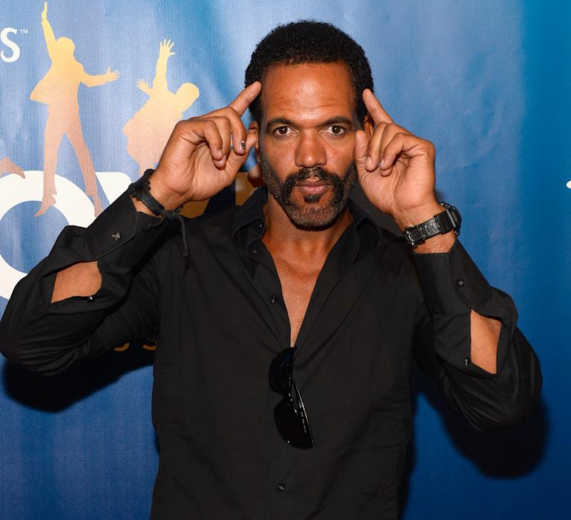 """LAS VEGAS, NV - JULY 14: Actor Kristoff St. John attends the 10th anniversary celebration of """"The Beatles LOVE by Cirque du Soleil"""" at the Mirage Hotel & Casino on July 14, 2016 in Las Vegas, Nevada. (Photo by Bryan Steffy/FilmMagic)"""