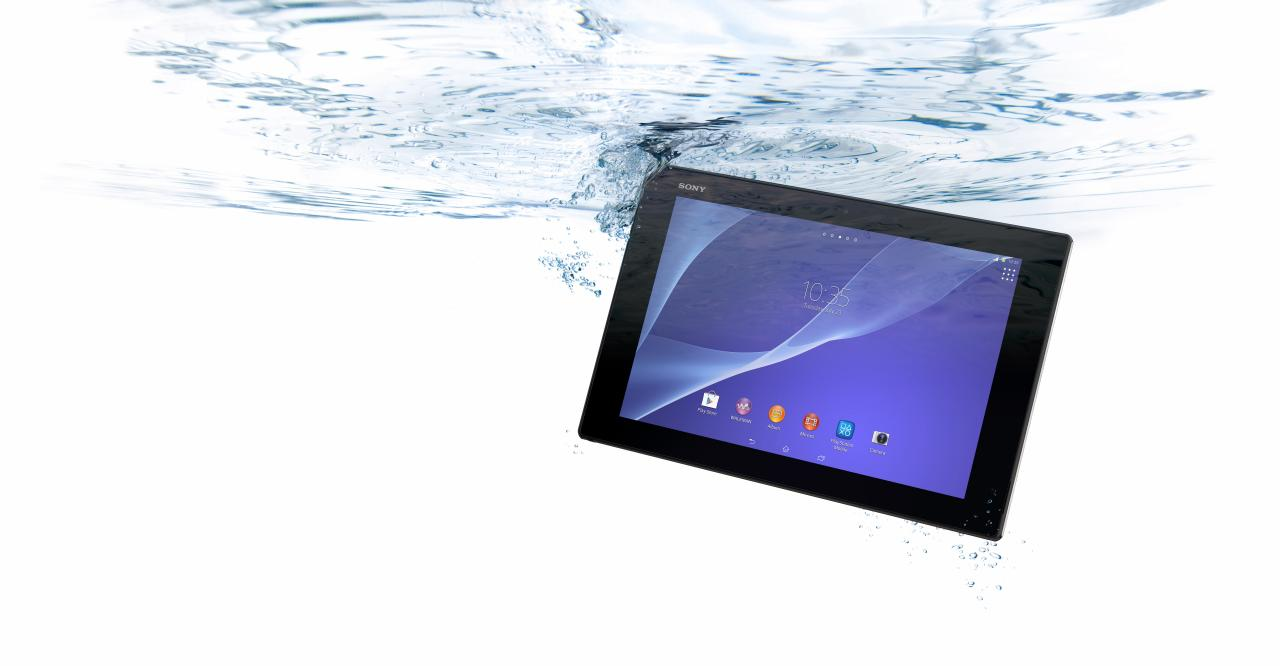 The only tablet here that's waterproof, it is probably the best Android tablet that Sony has ever built. Despite a 10.1-inch screen and a pretty large bezel, it only weighs 426g. The company has paid as much attention to how it looks as to how it performs and so it feels like a quality product and one worth the price tag even if the display isn't quite as impressive as those on Samsung or Apple tablets.