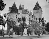 """<p>With the money Baker accumulated as one of Europe's top entertainers, she purchased a château in the French countryside named Les Milandes. The <a href=""""https://www.departures.com/travel/black-book/josephine-baker%E2%80%99s-french-ch%C3%A2teau"""" rel=""""nofollow noopener"""" target=""""_blank"""" data-ylk=""""slk:singer had been renting the property"""" class=""""link rapid-noclick-resp"""">singer had been renting the property</a> for the past decade and was finally able to buy it in 1947.</p>"""