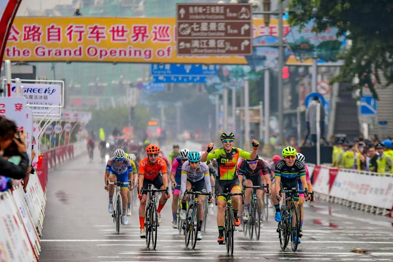 Chloe Hosking (Ale Cipollini) won the 2019 Tour of Guangxi in China, and will remain the defending champion until 2021 following the race's cancellation for 2020