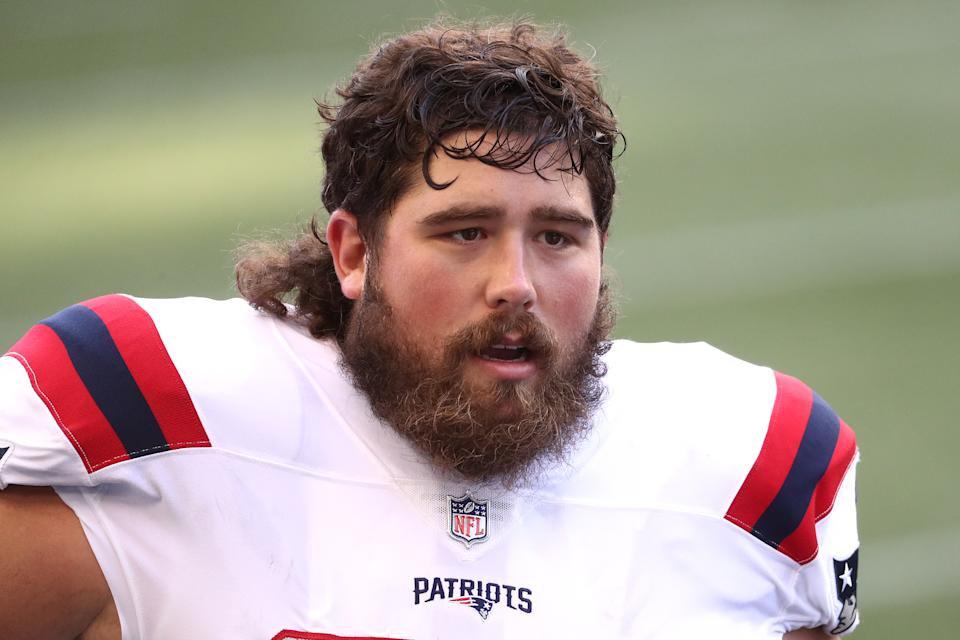 David Andrews might miss time with a broken thumb. (Photo by Abbie Parr/Getty Images)