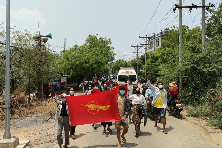 The army has cracked down on protesters, killing more than 700 people