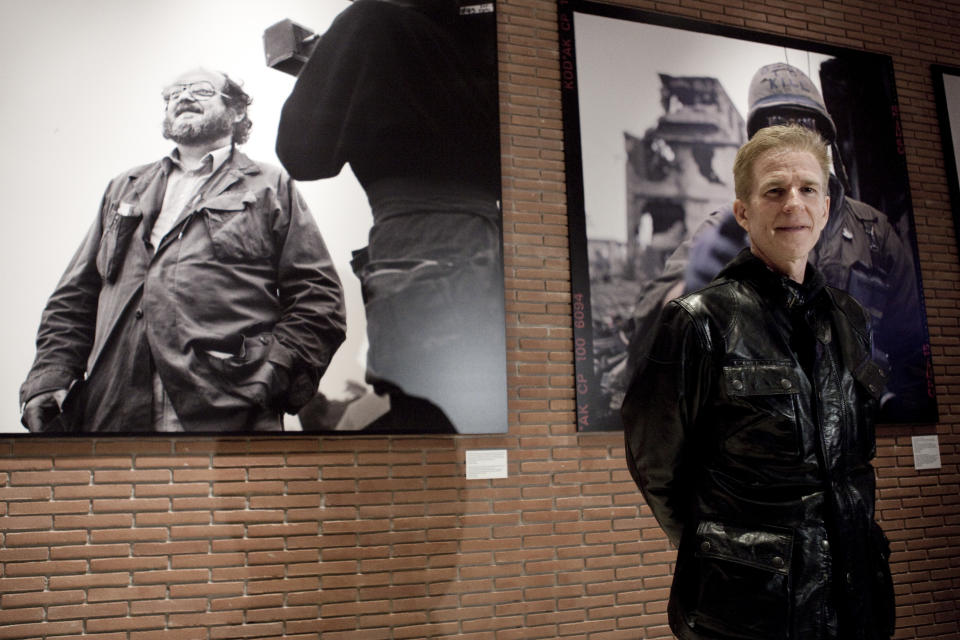 Matthew Modine opens his photography exhibition Full Metal Jacket diary Redux during the 7th International Roma Film Festival.For the 25th anniversary of Stanley Kubrick's Full Metal Jacket, the Rome Film Festival pays homage to Kubrick's masterpiece with an exhibition of photographs,
