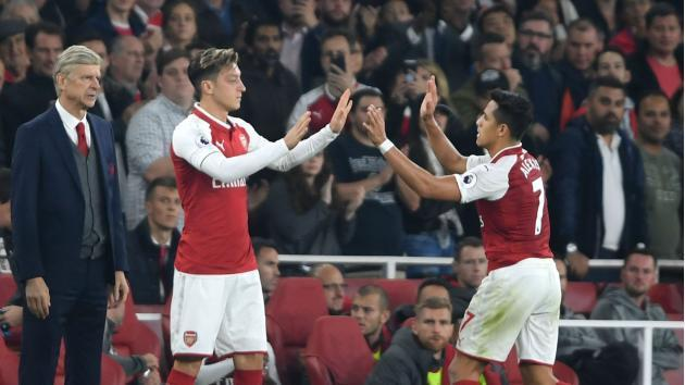 <p>They love the club - Wenger hopeful over Ozil, Sanchez deals</p>