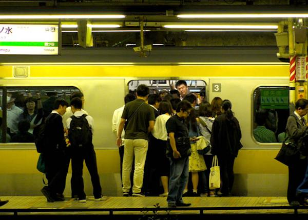 Trains get very crowded in Tokyo especially! (Image credit: StreetVJ / Shutterstock.com)