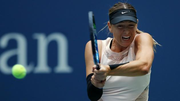 Sharapova proud despite defeat as grand slam return ends at US Open