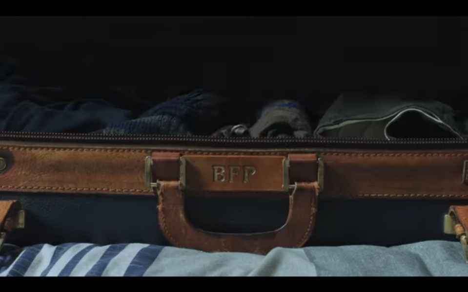 Peter takes his late Uncle Ben's suitcase with him to Europe. (Photo: Sony/YouTube)
