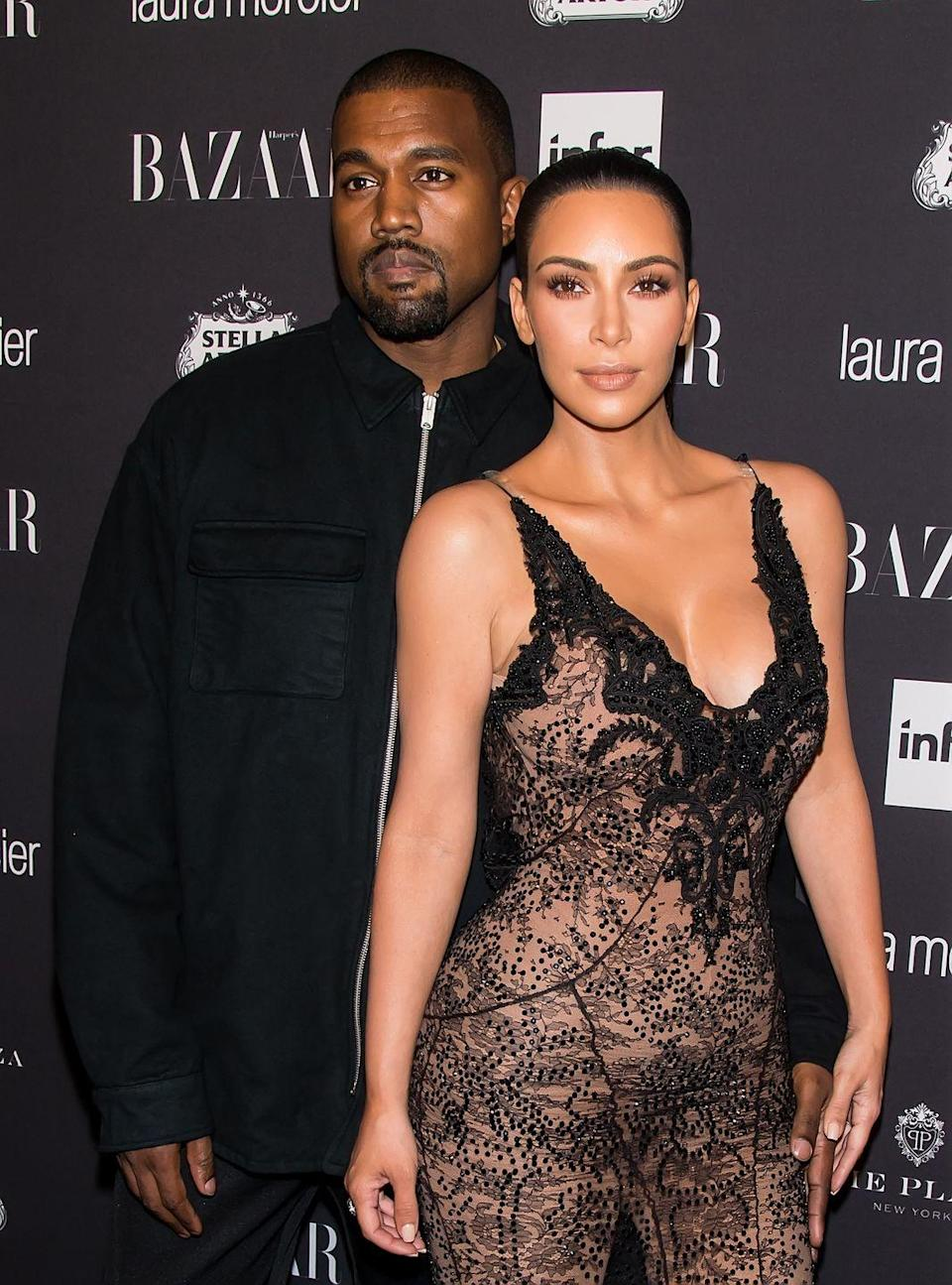 "<p>Never ones to go by the book (keep reading for even more from this uniquely-named brood!), Kim Kardashian West and Kanye West welcomed Psalm (Hebrew for ""song"") to the family in 2019. Born via surrogate, their son's name is <a href=""https://people.com/parents/kim-kardashian-kanye-west-son-psalm-name-meaning/"" rel=""nofollow noopener"" target=""_blank"" data-ylk=""slk:said to refer to"" class=""link rapid-noclick-resp"">said to refer to</a> ""where Kim and Kanye are spiritually."" </p>"