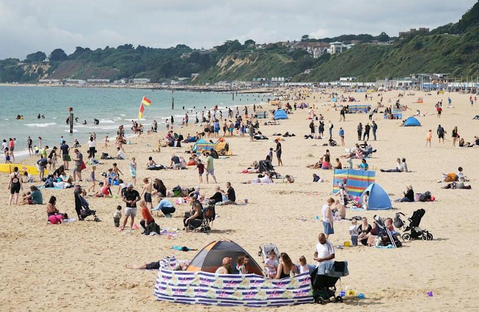 Temperatures are set to climb to 25C in September  (Andrew Matthews/PA) (PA Wire)