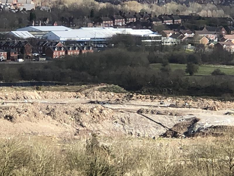 The Walley's Quarry landfill site in Silverdale, Newcastle-under-Lyme (James Morris)