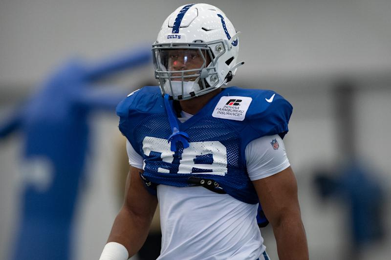 Indianapolis Colts running back Jonathan Taylor (28)