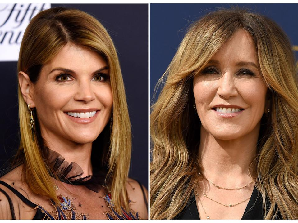 Lori Loughlin and Felicity Huffman were both charged in connection with the scheme.
