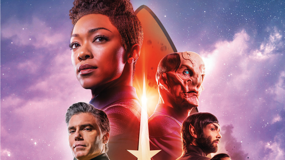 Check out Ethan Peck's Spock in action. Plus, see the new key art!
