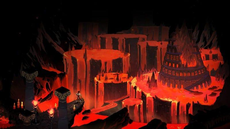 A screenshot from the game Hades.