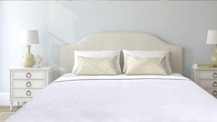 The Utopia Bedding Premium Summer Cotton Blanket is lightweight, and won't leave you drenched in sweat in the morning.
