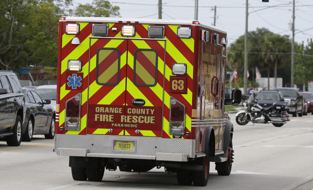"<p>Emergency vehicles stage near the site of a shooting, Monday, June 5, 2017, near Orlando, Fla. Law enforcement authorities said there were ""multiple fatalities"" following a Monday morning shooting in an industrial area near Orlando. On its officials Twitter account Monday morning, the Orange County Sheriff's Office said the ""situation"" has been contained. They said Orange County Sheriff Jerry Demmings will make a statement ""as soon as info is accurate."" (AP Photo/John Raoux) </p>"