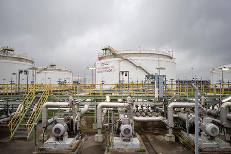 FILE PHOTO: Total oil refinery in Leuna