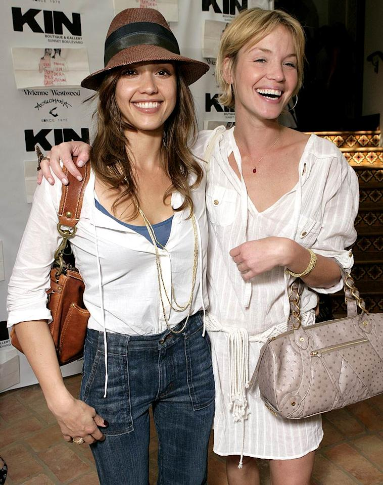 "Jessica Alba and Ashley Scott. Todd Williamson/<a href=""http://www.wireimage.com"" target=""new"">WireImage.com</a> - May 31, 2007"