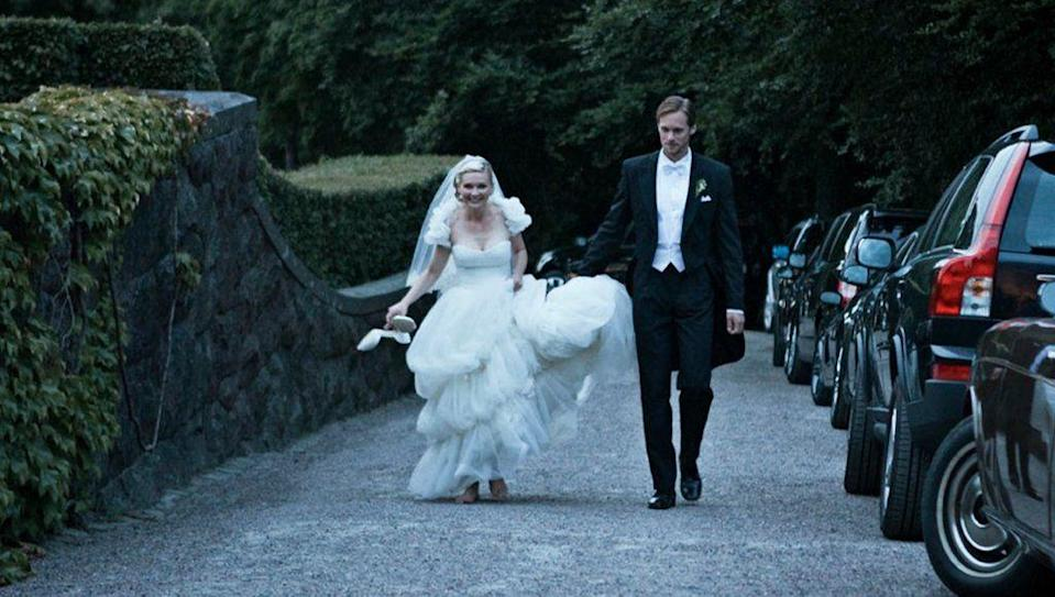 <p>Bad news? In this 2011 flick, the world is ending. Good news? Kirsten Dunst's character, Justine, wears this fab wedding dress. </p>
