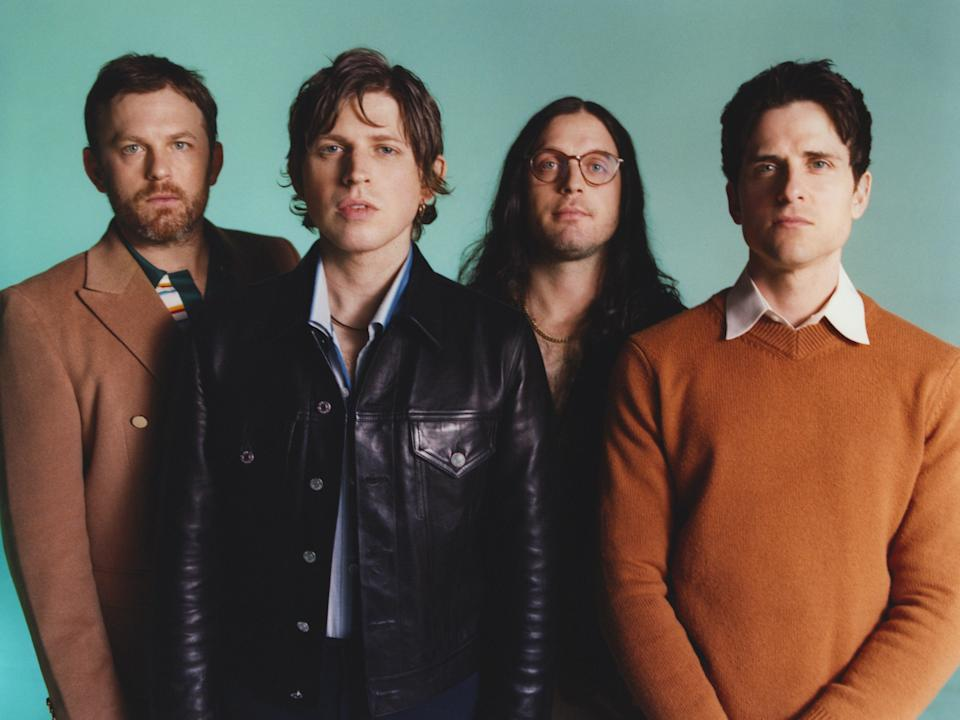 Kings of Leon: 'The older you get, the more you don't really give a s*** about what everyone else thinks' (Matthew Followill)