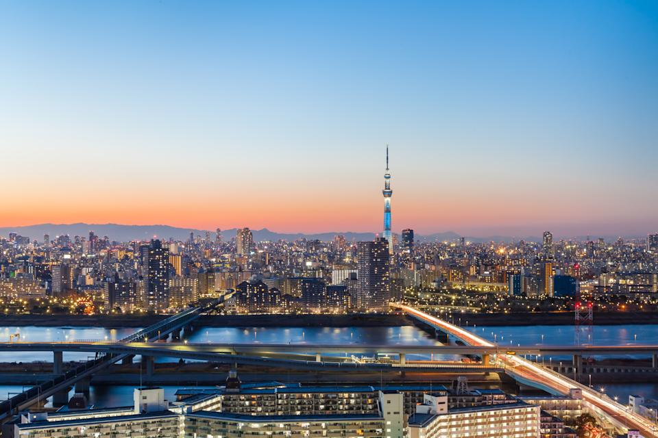 Tokyo is the cheapest long-haul destination. [Photo: Getty]
