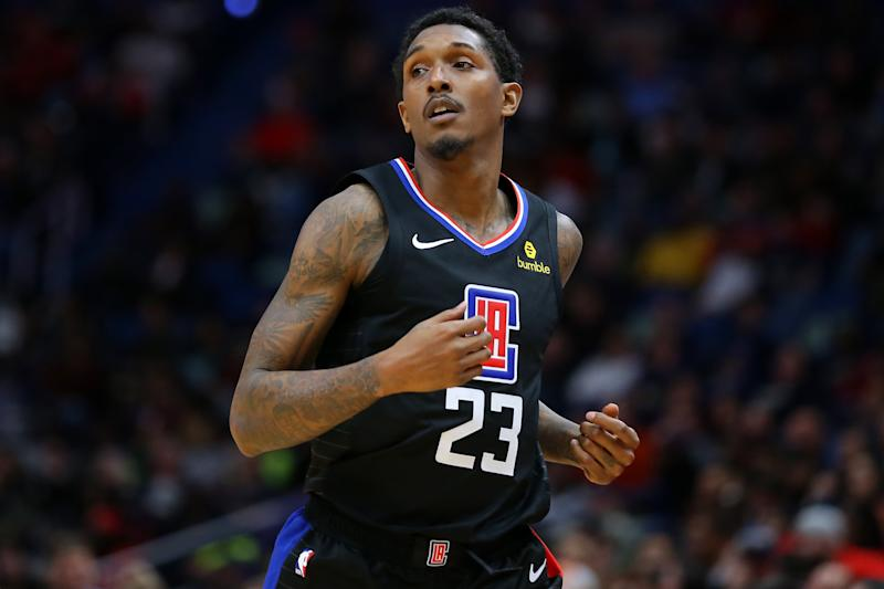 Lou Williams #23 of the LA Clippers