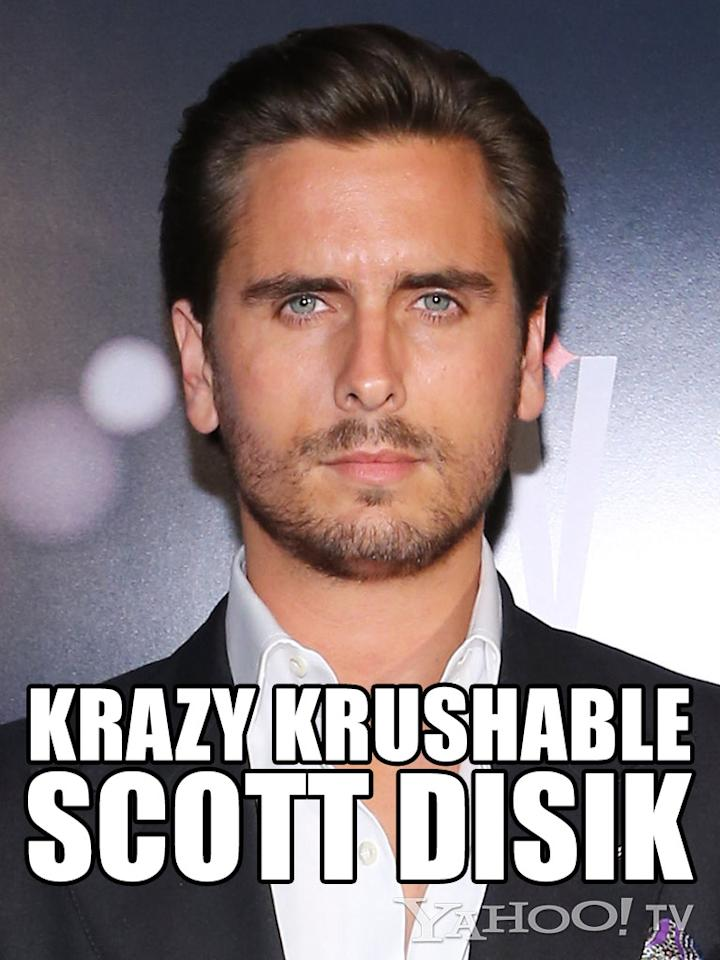 <strong>Scott Disick<br /><br /></strong>It's hard to believe that Alanis Morissette wasn't thinking of this naughty Scottie when she wrote her oeuvre of I'm-mad-at-a-man scream-songs. All we can say is, this Professional Kardashian Baby Daddy is lucky, because no matter what he does, no matter how many times he looks in the mirror, no matter how popped his collar, no matter how dense his brain, no matter how unabashed his hunger for attention, we love us some Lord Disick. We get why Kourtney sticks around: He makes us laugh, and when he's not a total DB (which does happen), he can be seriously sweet. And he has a cute butt.
