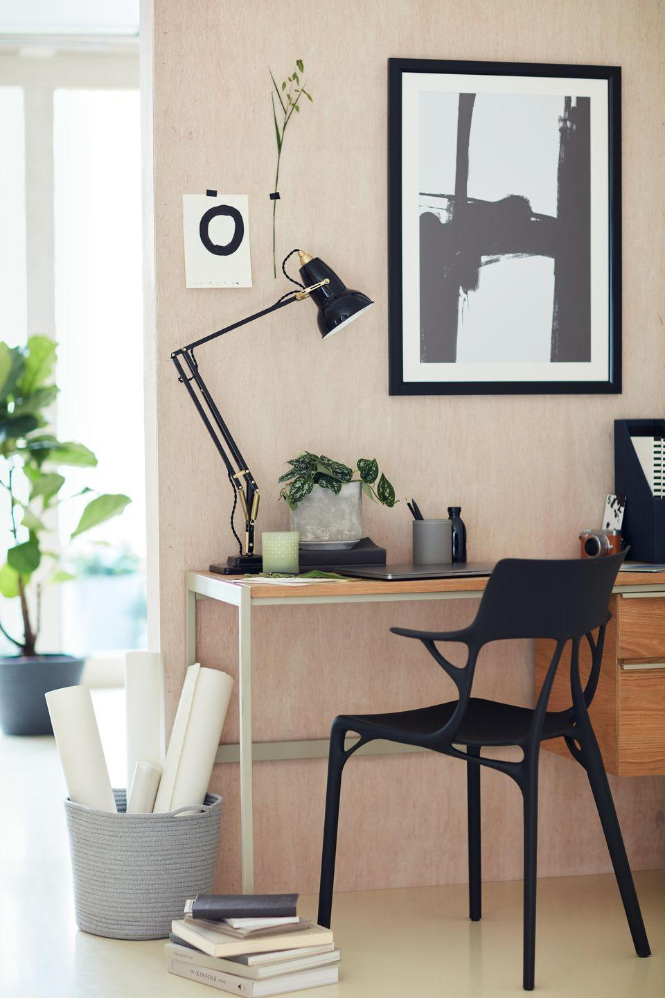 """<p>Over the past year, our homes have become multifunctional places for both work and play. Taking this into account, John Lewis has everything you need to work from home efficiently. You'll find space-saving desks, comfortable chairs, lights and study essentials. </p><p>'This season we've brought function and beauty together<br>to offer our customers a selection of design-led desks<br>that will elevate any home office space,' says David Barrett, Partner & Living and Dining Furniture Buyer.<br></p><p><a class=""""link rapid-noclick-resp"""" href=""""https://go.redirectingat.com?id=127X1599956&url=https%3A%2F%2Fwww.johnlewis.com%2Fbrowse%2Fhome-garden%2Fnew-in-home%2F_%2FN-7opk&sref=https%3A%2F%2Fwww.housebeautiful.com%2Fuk%2Flifestyle%2Fshopping%2Fg35369005%2Fjohn-lewis-partners-homeware-spring-summer%2F"""" rel=""""nofollow noopener"""" target=""""_blank"""" data-ylk=""""slk:SHOP NOW"""">SHOP NOW</a></p>"""