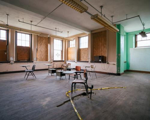 Abandoned in 1998, Calhoun County High used to be the social hub of the community. The 1982 Foundation has purchased the building and is turning it into a mixed-use community center that will breathe life back into the town and surrounding area.