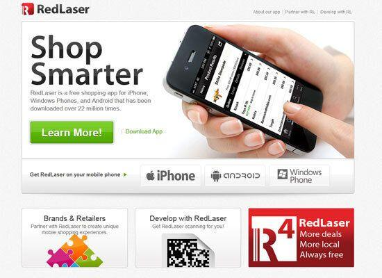 """<em>Barcode background check on items to find sales, use loyalty cards, and buy from your smartphone</em> <a href=""""http://redlaser.com/"""">Red Laser</a> lets you scan a barcode of just about anything to find out if it's for sale for a lower price anywhere else. So many retailers are offering <a href=""""http://redlaser.com/"""">price-matching</a> this year, that if you do find a better price, you might be able to show the Red Laser results right to a salesclerk to get the better price at checkout. You can also scan in loyalty cards for certain supermarket and drugstore chains, so that again, you just hand over your phone to the cashier instead of carrying a bunch of cards. Red Laser also lets you buy items within the app from retailers like Toys R Us and Best Buy."""
