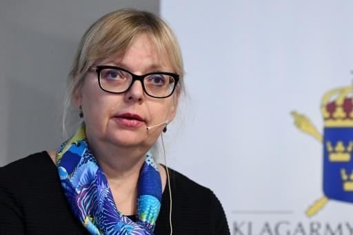 """Sweden's deputy director of public prosecutions Eva-Marie Persson said the Assange case had been dropped despite its """"credible"""" claims"""