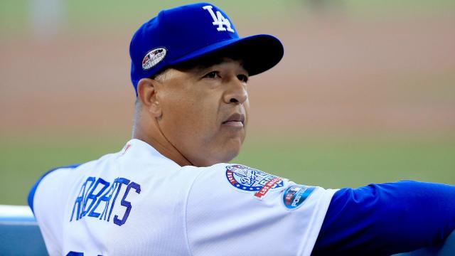 Dave Roberts will reportedly remain Dodgers manager once a new contract is finalized. (AP)
