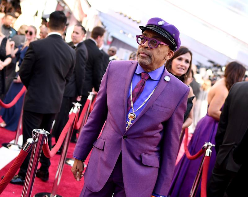 Spike Lee arrives at the Oscars on Sunday, Feb. 24, 2019, at the Dolby Theatre in Los Angeles. (Photo by Charles Sykes/Invision/AP) (Photo: Charles Sykes/Invision/AP)
