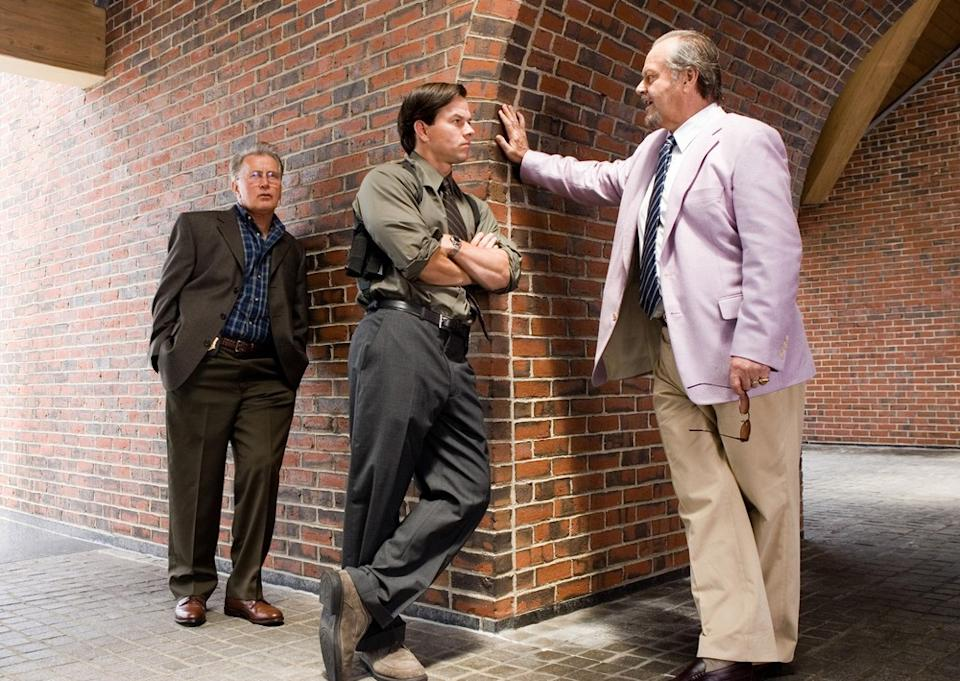 Martin Sheen, Mark Wahlberg and Jack Nicholson in