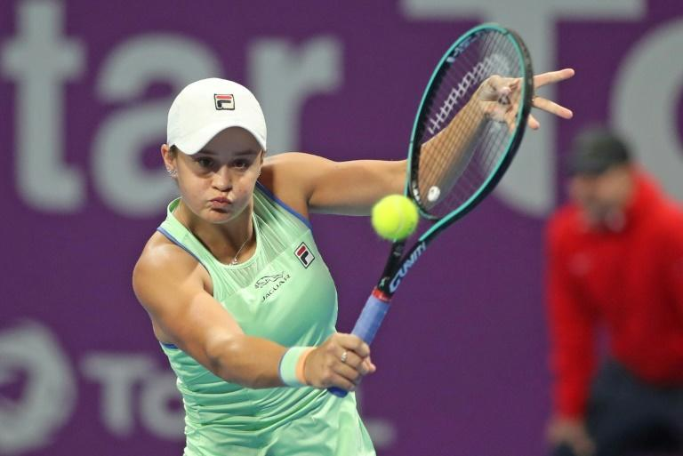 Barty would ordinarily be in Europe preparing to defend her French Open crown, but instead picked up her golf clubs, winning the Brookwater Golf Club women's title near Brisbane
