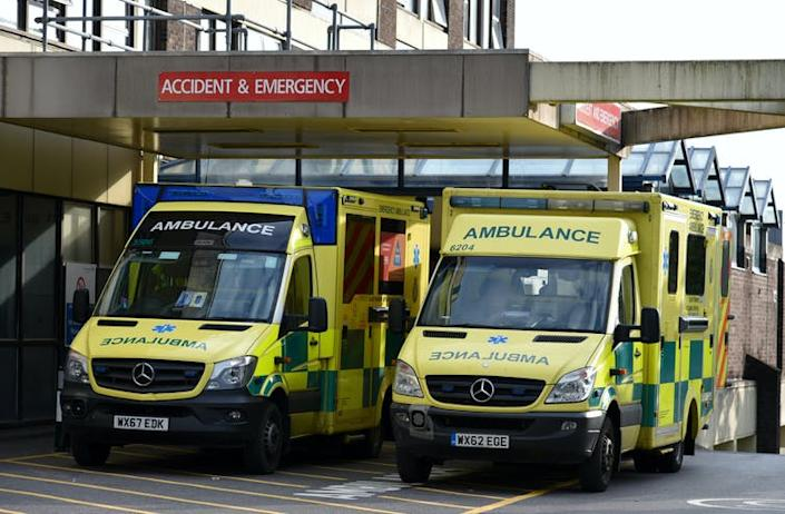 "<span class=""caption"">Many ambulance staff felt there was a stigma in asking for help.</span> <span class=""attribution""><a class=""link rapid-noclick-resp"" href=""https://www.shutterstock.com/image-photo/pooleuk-august-28-2018-emergency-ambulances-1166517202"" rel=""nofollow noopener"" target=""_blank"" data-ylk=""slk:Ajit Wick/ Shutterstock"">Ajit Wick/ Shutterstock</a></span>"
