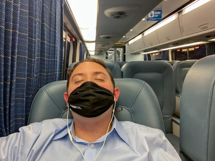 Riding Amtrak During the Pandemic