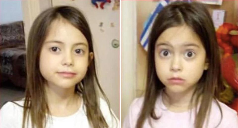 <span>Twins Sofia (left) and Vasiliki (right) are among the missing in one of Greece's deadliest fires in decades.</span>