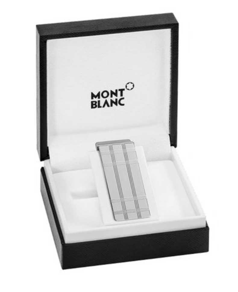Mont Blanc, Essential Sartorial Money Clip. (PHOTO: Yoox)