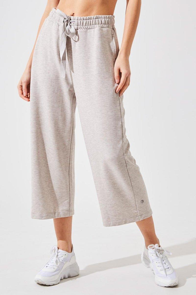 Hypnotic Recycled Polyester Cropped Wide Leg Pant. Image via MPG Sport.