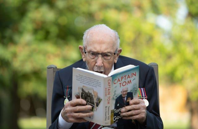Captain Sir Tom Moore autobiography