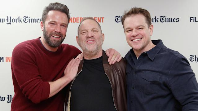 """Since news broke of the multiple sexual harassment allegations against producer Harvey Weinstein, all kinds of disturbing headlines have surfaced, including some claiming that Matt Damon and Russell Crowe """"helped kill"""" a story about the producer in 2004."""