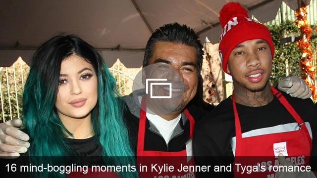 16 mind-boggling moments in Kylie Jenner and Tyga's romance