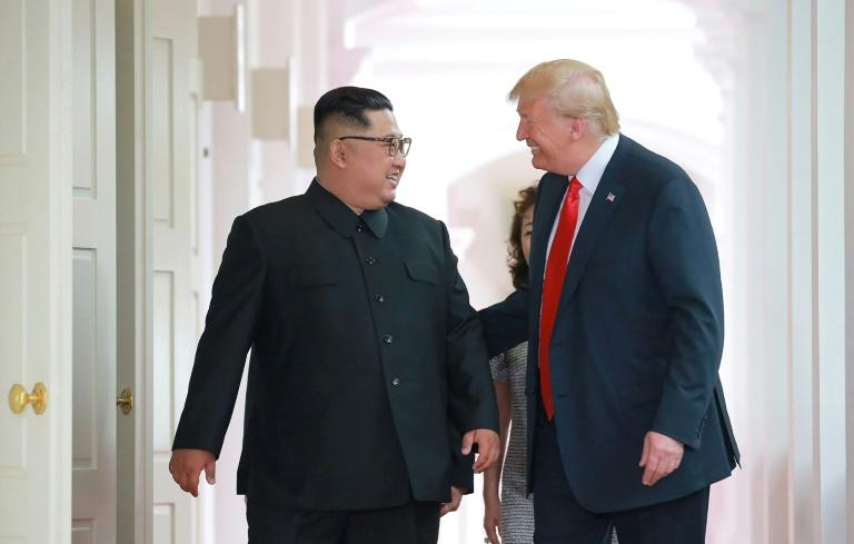 North Korea's leader Kim Jong Un met US President Donald Trump at a historic summit in Singapore