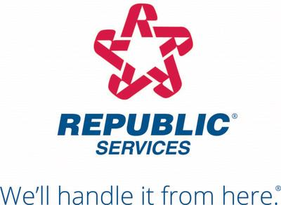 Republic Services logo (PRNewsfoto/Republic Services)