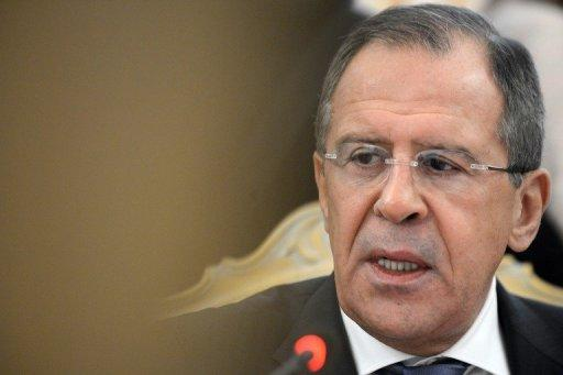 Russia's Foreign Minister Sergey Lavrov pictured in Moscow, on December 17, 2012